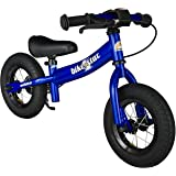 Bikestar 10 inch (25.4cm) Kids Balance Bike / Kids Running Bike - Sport - Blue