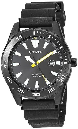 Amazon.com: Citizen BI1045-13E - Correa de cuarzo para ...