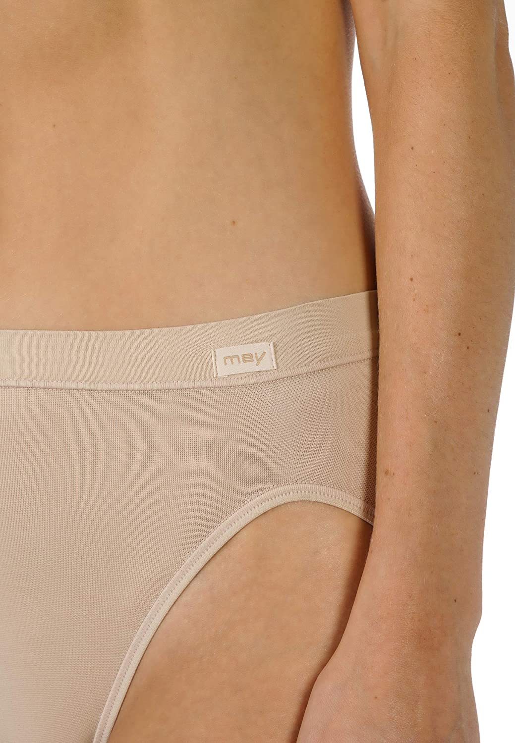 Mey 59201-1 Womens Emotion White Solid Colour Knickers Panty Brief