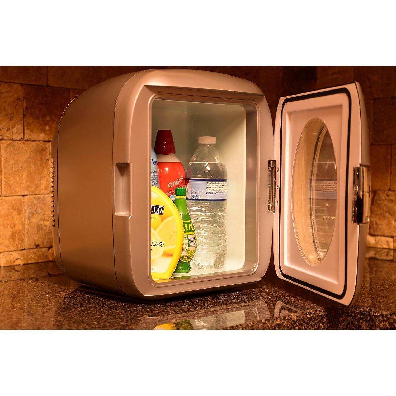 Uncategorized Useless Kitchen Appliances amazon com uber appliance ub xl1 chill 12 can retro personal mini fridge appliances