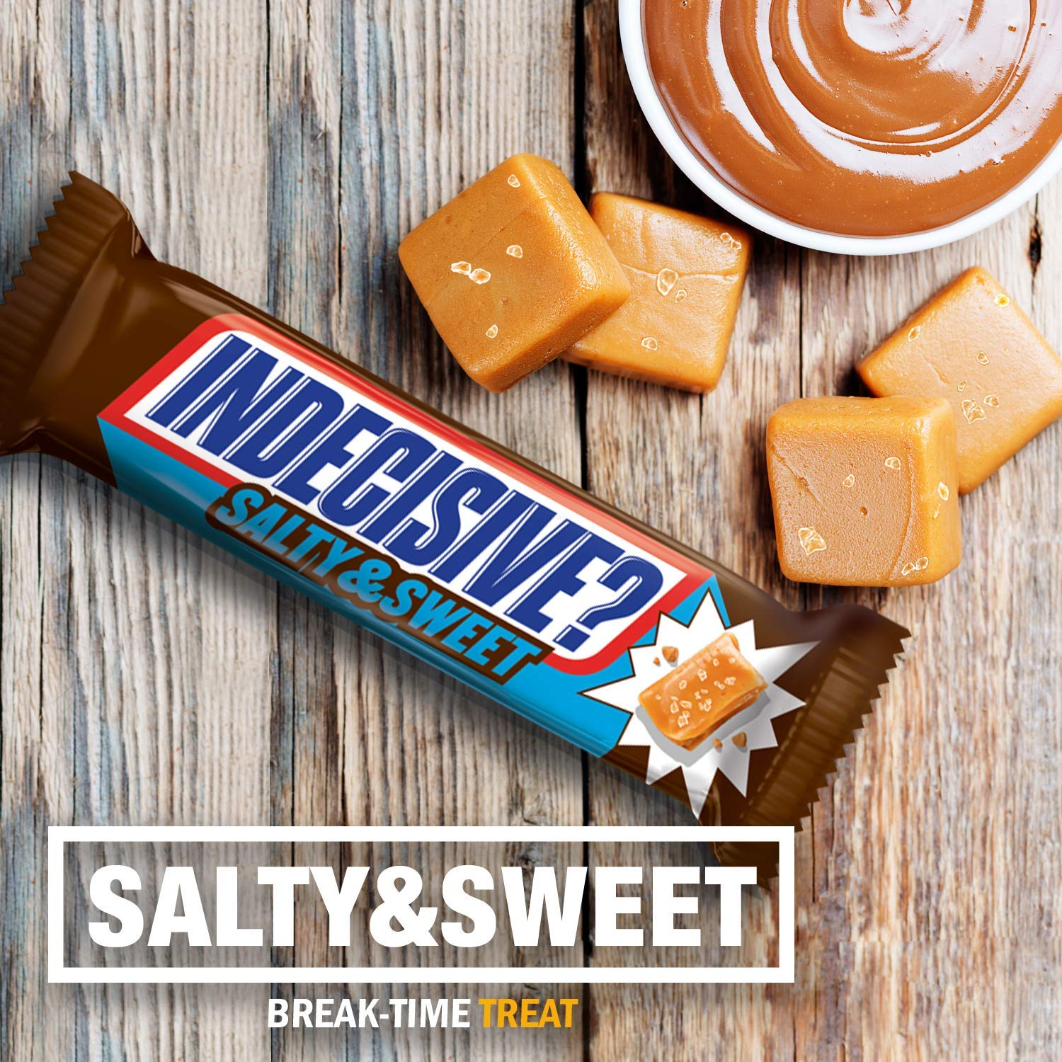 Snickers Salty & Sweet Chocolate Candy King Size Bars, 3.23 Ounce (Pack of 24) by SNICKERS SALTY & SWEET KING SZ 24CT