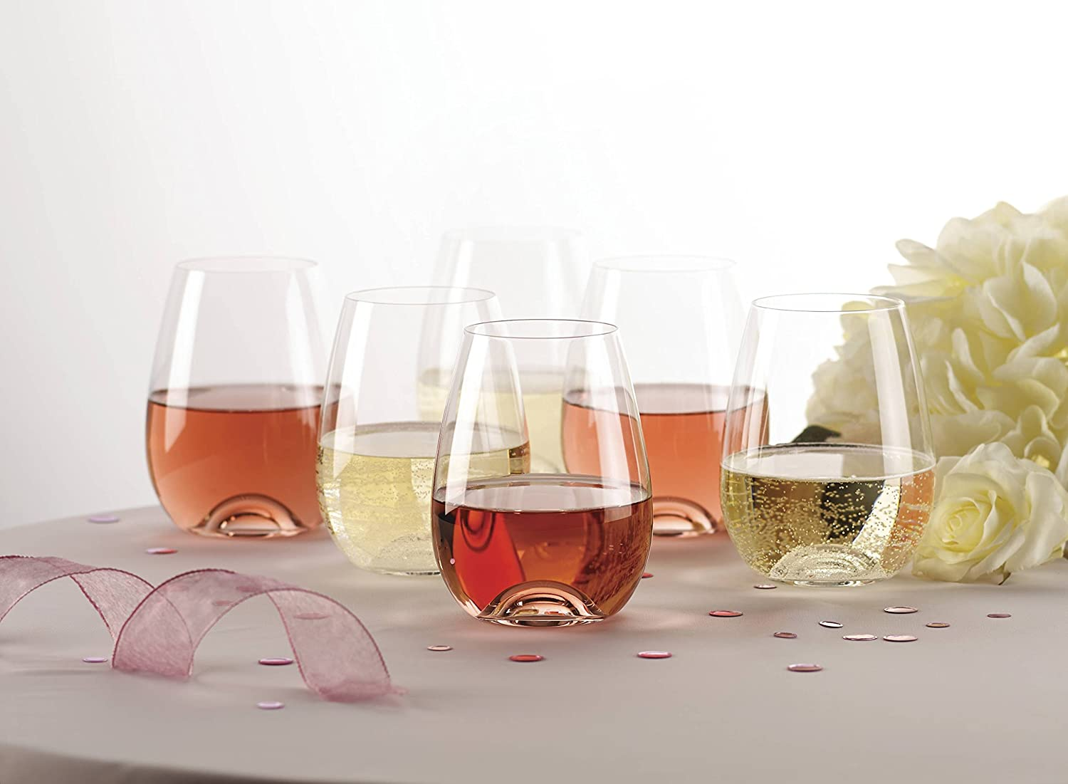 Lenox 6-Piece Stemless Wine Gl...