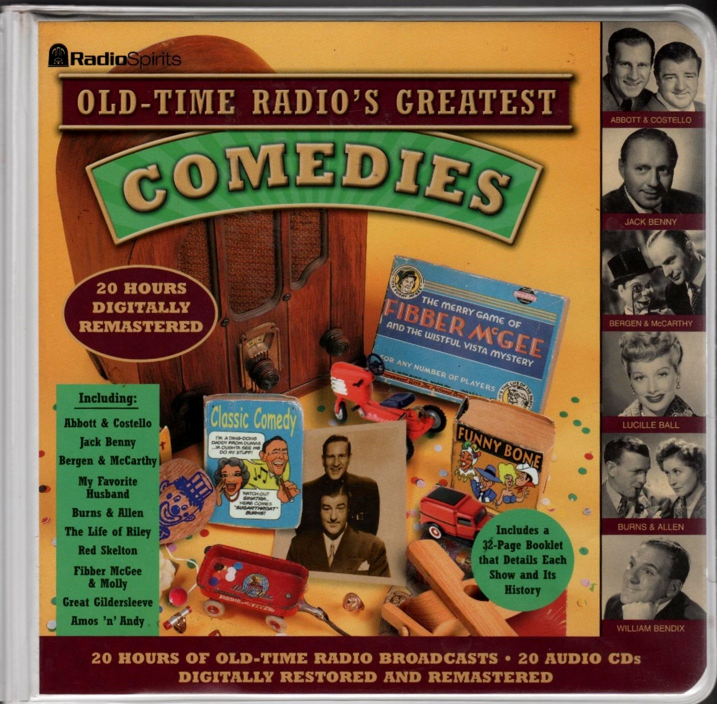 Old Time Radio's Comedies by Brand: Media Bay