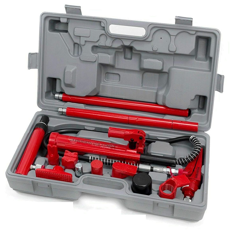 1 Pc Rainier Outdoor Power Equipment 4 Ton Body Frame Repair Kit Hydraulic Spreader Ram 4t Force SABADIVA 4 Ton Porta Power Farm Equipment