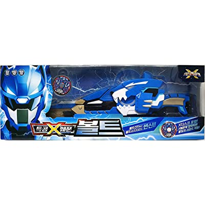 Miniforce Mini Force X Ranger Weapon Bolt Blue Transweapon Gun Sword Toy Set: Toys & Games