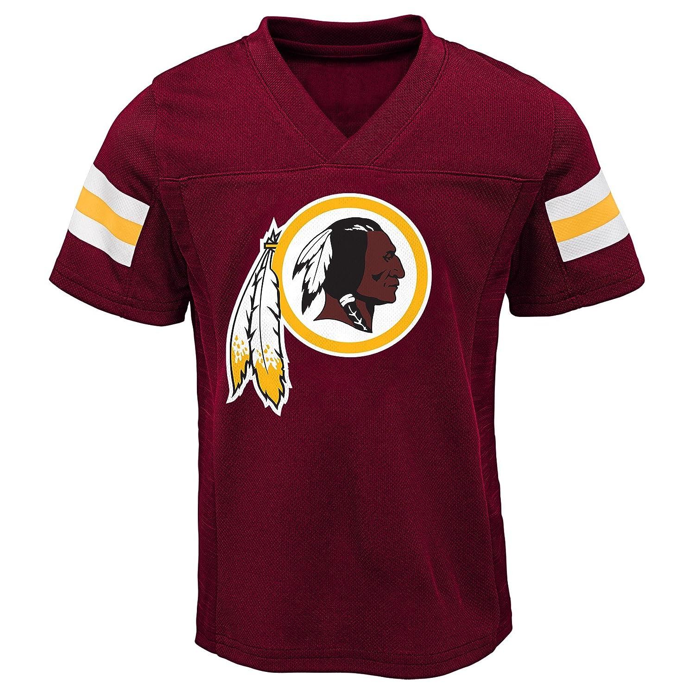 Outerstuff NFL NFL Washington Redskins Toddler Training Camp Short Sleeve Top /& Pant Set Burgundy 4T