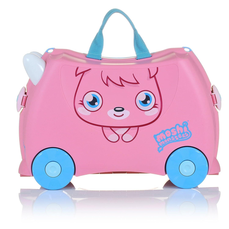Trunki ride on suitcase limited edition moshi monsters poppet amazon co uk luggage