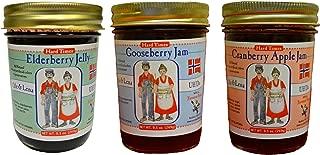 product image for Ole & Lena Hard Times Jams & Jellies (3 Pack) - 9.5 oz Jars--Elderberry, Gooseberry & Cranberry