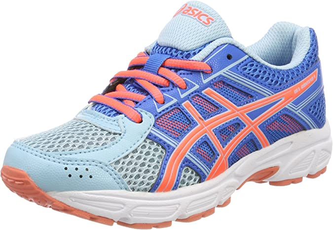 Asics Gel-Contend 4 GS, Zapatillas de Running Unisex Niños, Azul ...