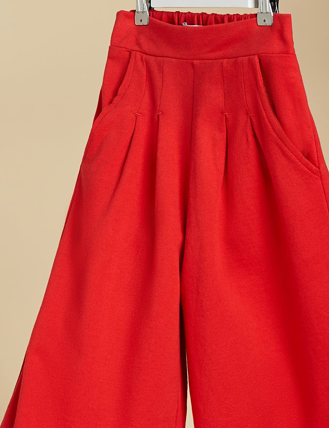 Marchio RED WAGON Pantaloni Flare in Jersey Bambina