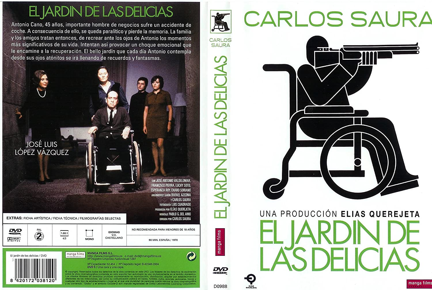 El jardin de las delicias (DVD): Amazon.es: Cine y Series TV