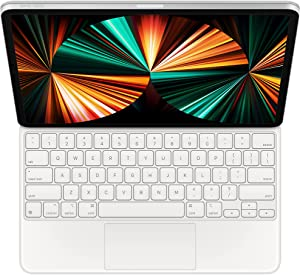 Apple Magic Keyboard (for iPad Pro 11-inch - 3rd Generation and iPad Air - 4th Generation) - US English- White