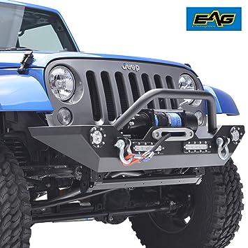 Amazon Com Eag Jeep Jk Led Accent Light Front Bumper W D