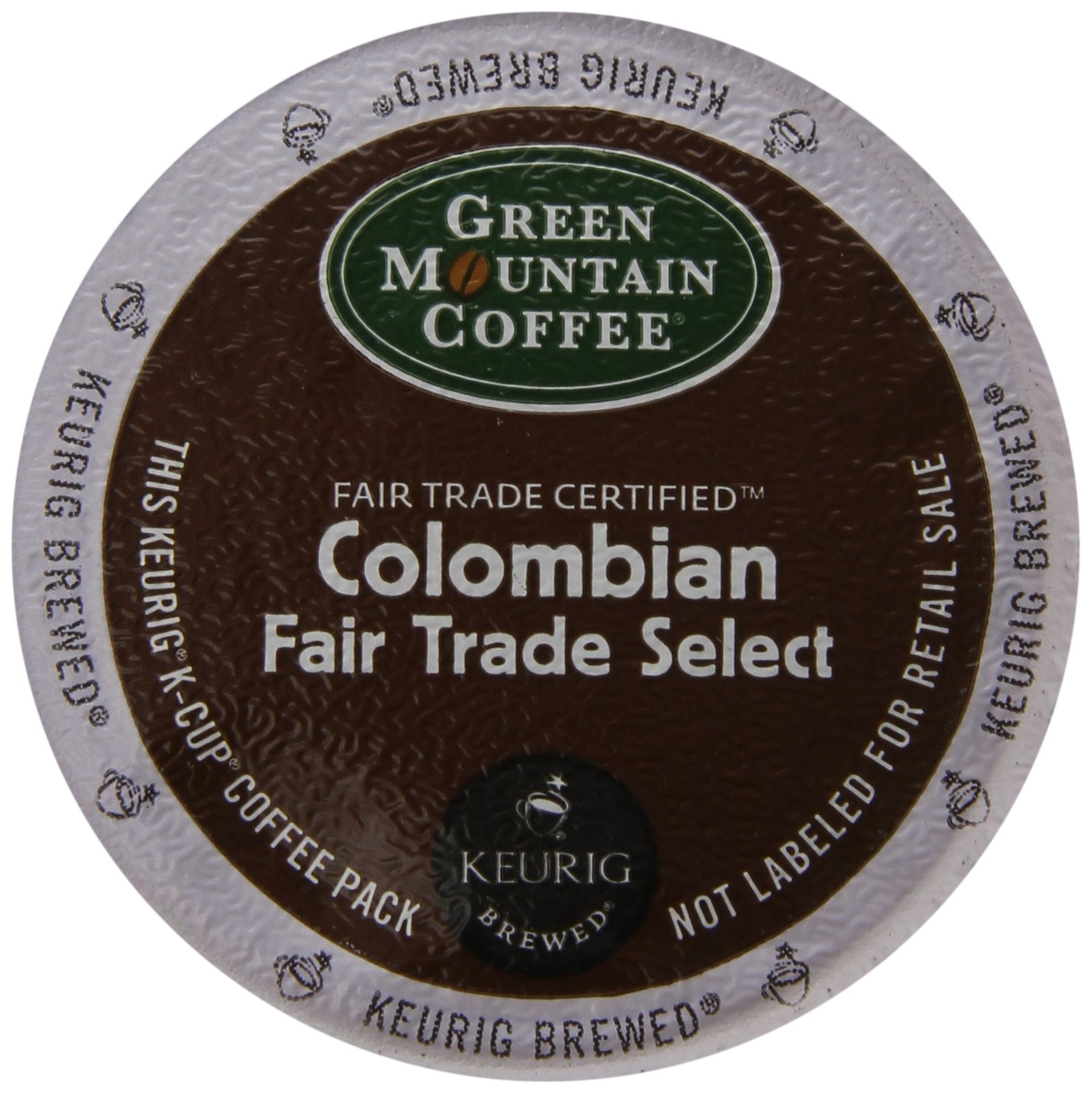 Colombian Fair Trade Select - Two 80 Count Boxes (160 Total) K-Cups Coffee For Keurig Brewers (Medium Roast)