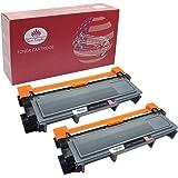 Toner Kingdom 2 pacco compatibile Brother TN2320 cartucce di toner per Brother HL-L2300D HL-L2320D HL-L2340DW HL-L2360DN HL-L2360DW HL-L2365DW HL-L2380DW DCP-L2500D DCP-L2520DW DCP-L2540DN DCP-L2560DW MFC-L2700DW MFC -L2720DW MFC-L2740DW