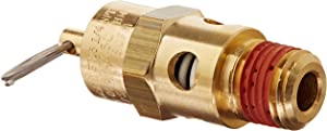 Control Devices ST25-1A175 ST Series Brass Soft Seat ASME Safety Valve, 175 psi Set Pressure, 1/4 Male NPT