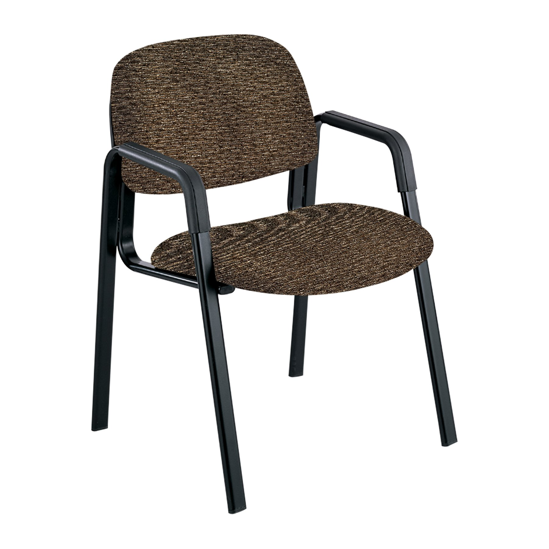 Safco Products 7046BR Cava Urth Straight Leg Guest Chair, Brown