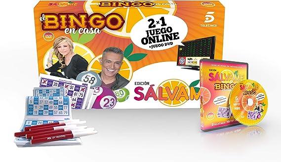 Binvi Juego de Mesa Bingo de Sálvame: Amazon.es: Juguetes y juegos