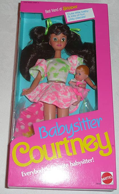 Amazon.com: Best Friend Barbie Babysitter COURTNEY Doll, of