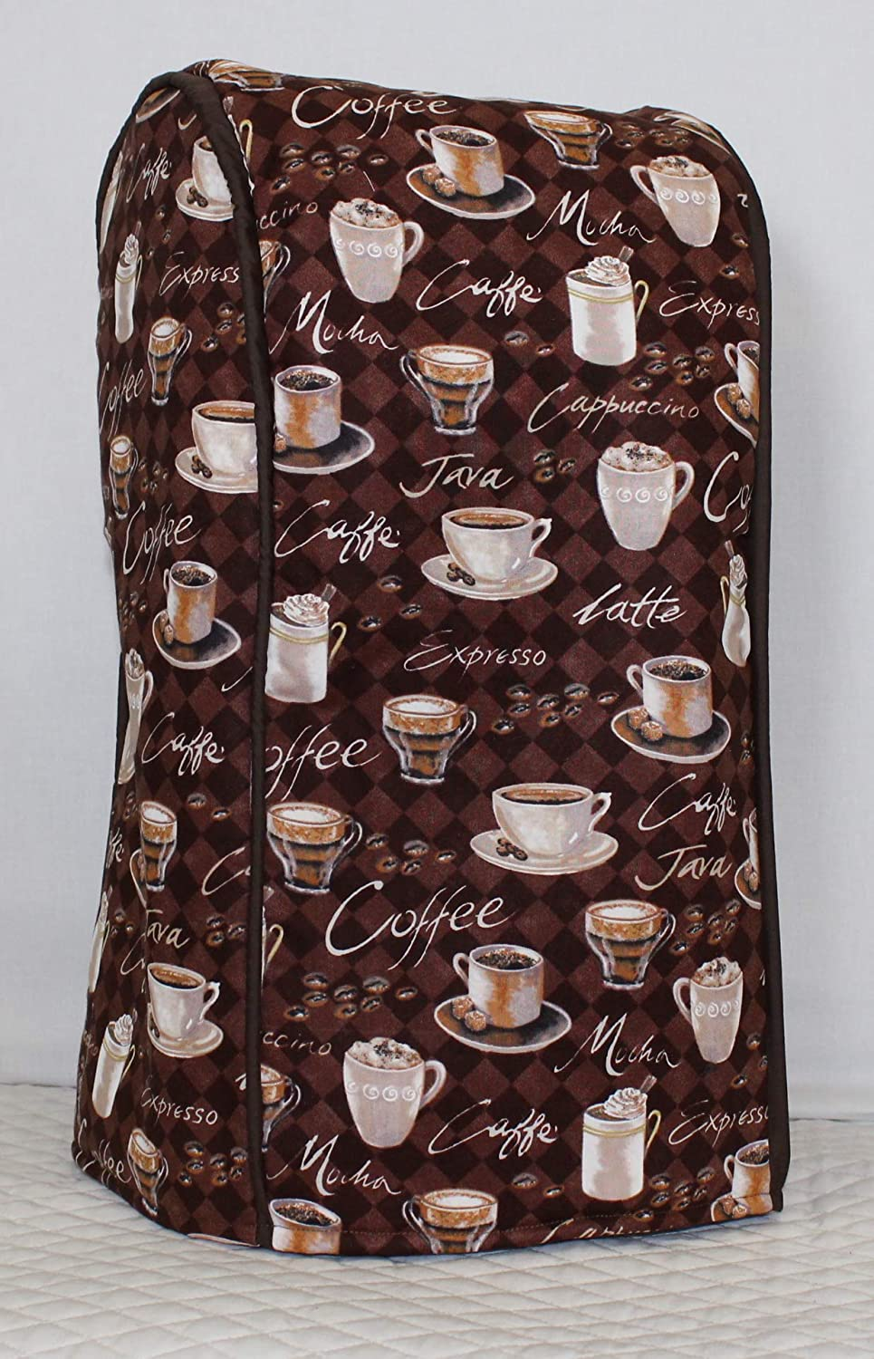 Simple Home Inspirations Premium Cotton Cover Compatible with Ninja Blender Systems (Cafe)