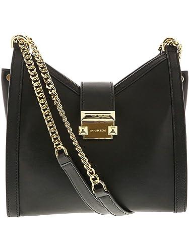 fce3e5a23c MICHAEL Michael Kors Femmes cuir Whitney Small Shoulder Bag Noir Une  Taille: Amazon.fr: Chaussures et Sacs