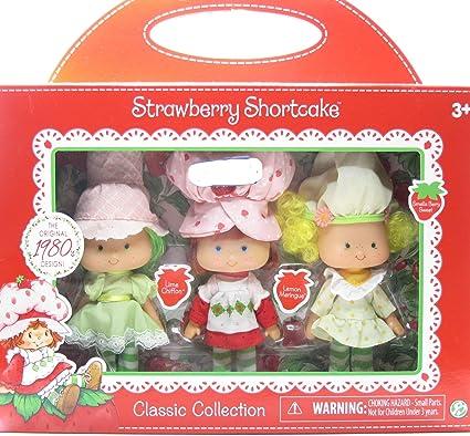 Amazon Com Strawberry Shortcake Lime Chiffon Lemon Meringue Vintage 1980s Design Toys Games