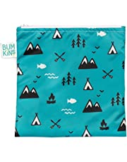 Bumkins Reusable Snack Bag, Large, Outdoors