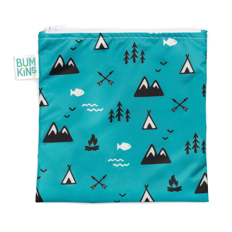 Bumkins Reusable Snack Bag, Outdoors, Large