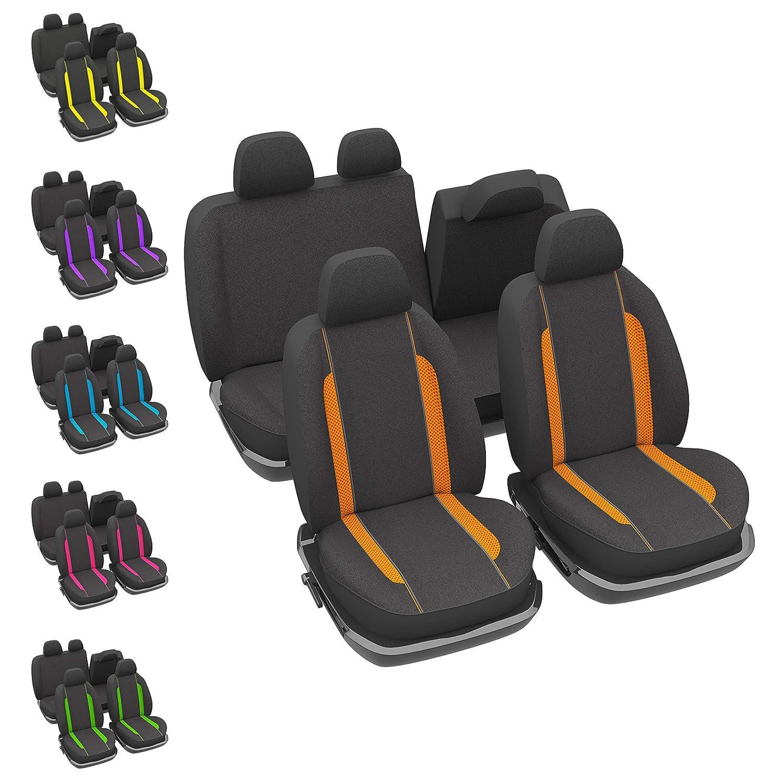 Auto Universal abwischbar Rutschfest DBS 1012868 Sitzbez/üge Orange