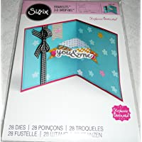 Sizzix Card Die ~ Card with Banners & 3D Drop-ins!!!