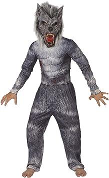 Disfraz de hombre lobo niño: Amazon.es: Juguetes y juegos