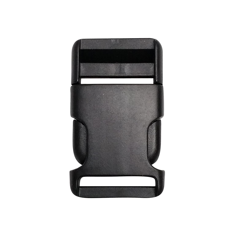 10 Stück Klickverschluss / Klippverschluss Steckschließer für Gurtband 30mm breit Kacperek