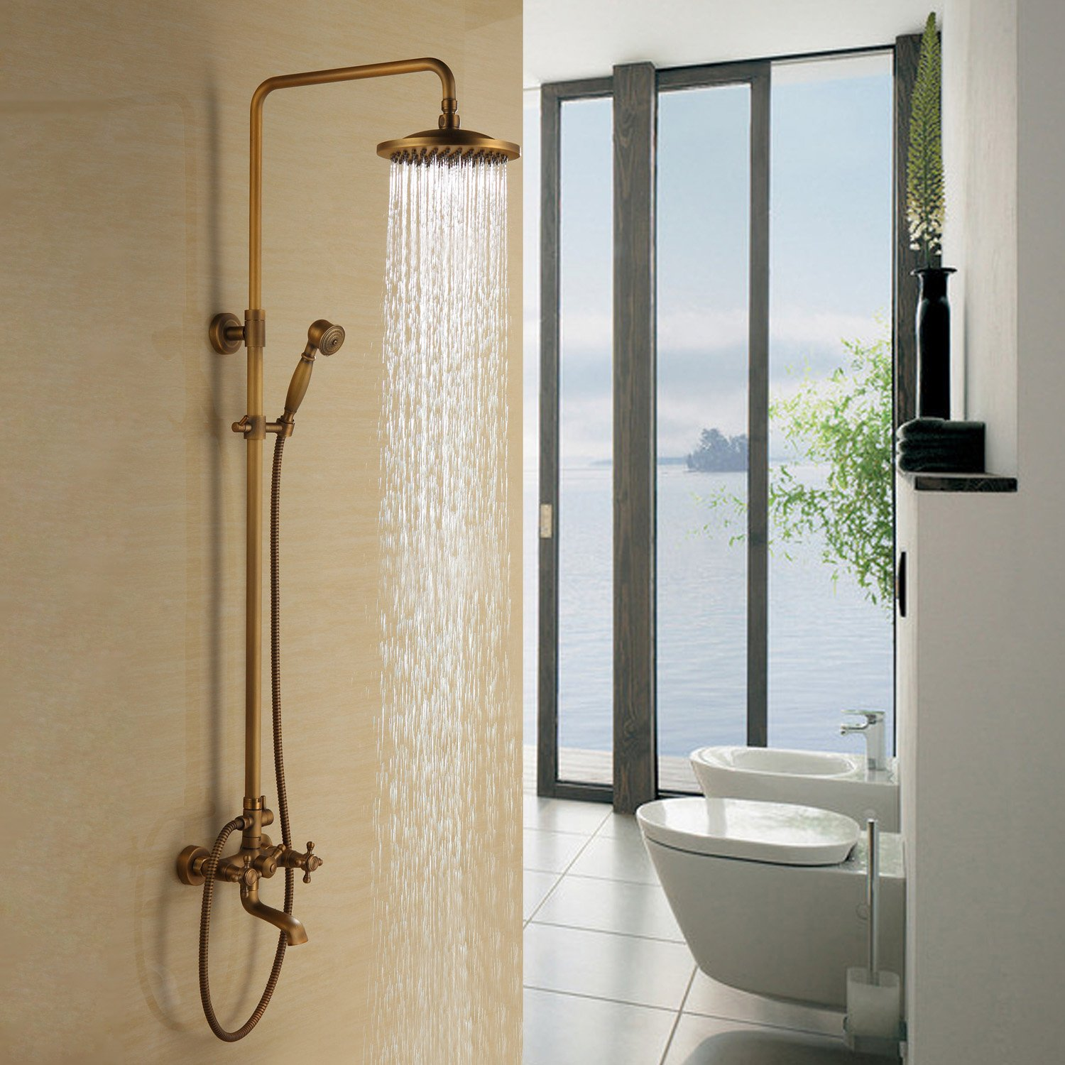 Lightinthebox Bathroom Shower System 8\