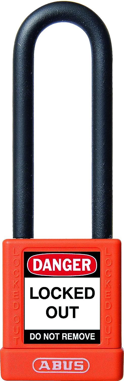 Abus 74/40HB75 Naranja - Candado no conductor para seguridad 40mm arco extra largo naranja 58985