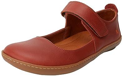 b0516e871365e Art Damen 1293 Memphis Kio Geschlossene Ballerinas Rot (Petalo) 36 EU