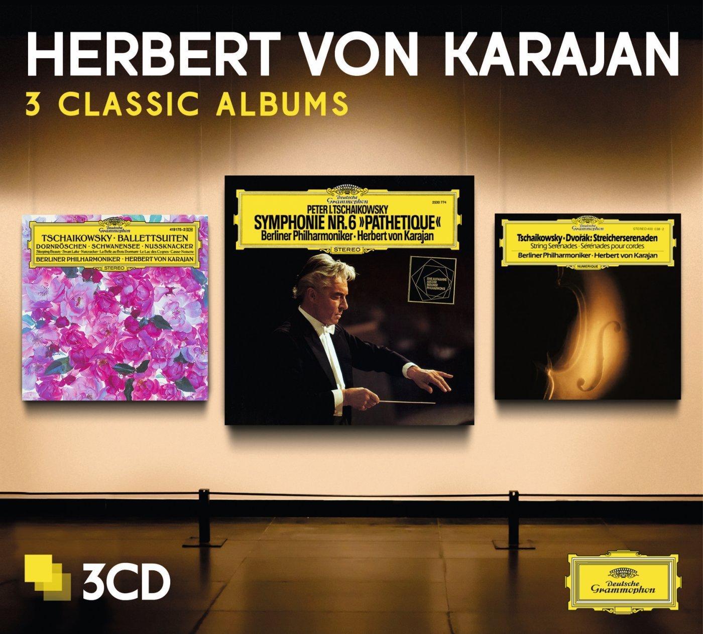 CD : Herbert von Karajan - Three Classic Albums (tchaikovsky) (Limited Edition, 3PC)