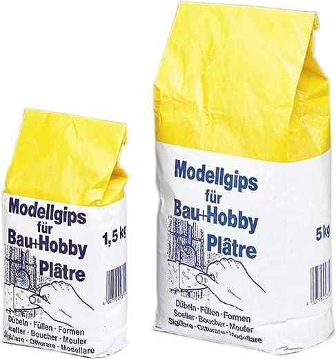 Pufas Modellgips für Bau+Hobby 5,000 KG