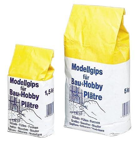 Modellgips Bau Amp Hobby 50kg 3313001 Amazoncouk Diy Tools