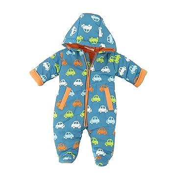 Schon Lily U0026 Jack Baby Boysu0027 Snowsuit Blau Orange Grün 0 3 Monate (56