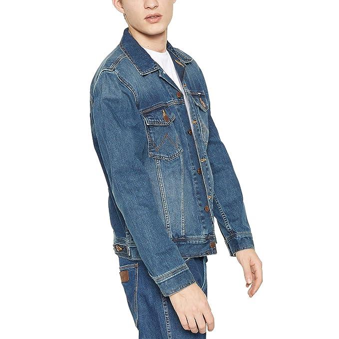 Wrangler Classic Jacket Chaqueta para Hombre: Amazon.es ...