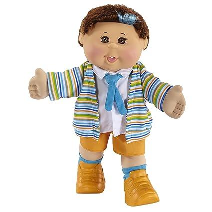 Amazon Com Cabbage Patch Kids Celebration Boy Doll Brunette Hair