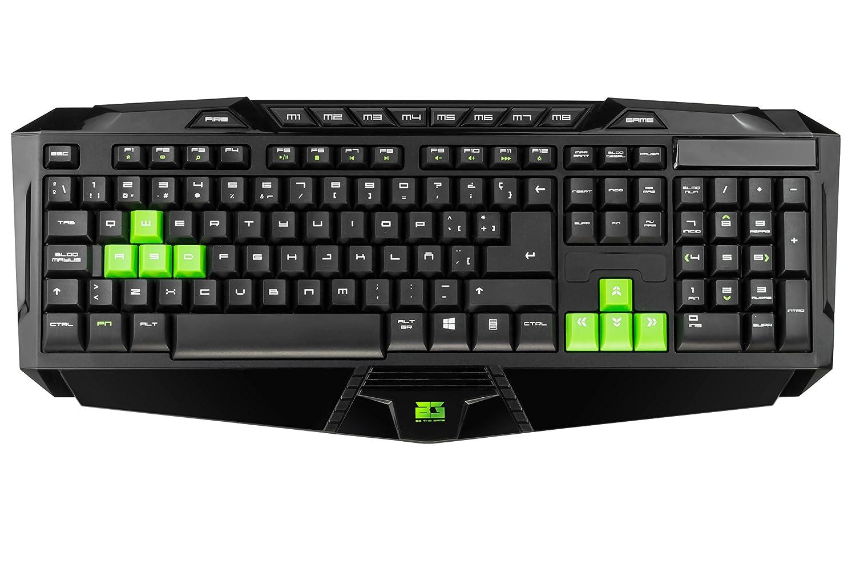 BG-Gaming BG-TC04 - Teclado Membrana gaming, color negro: Amazon.es: Electrónica