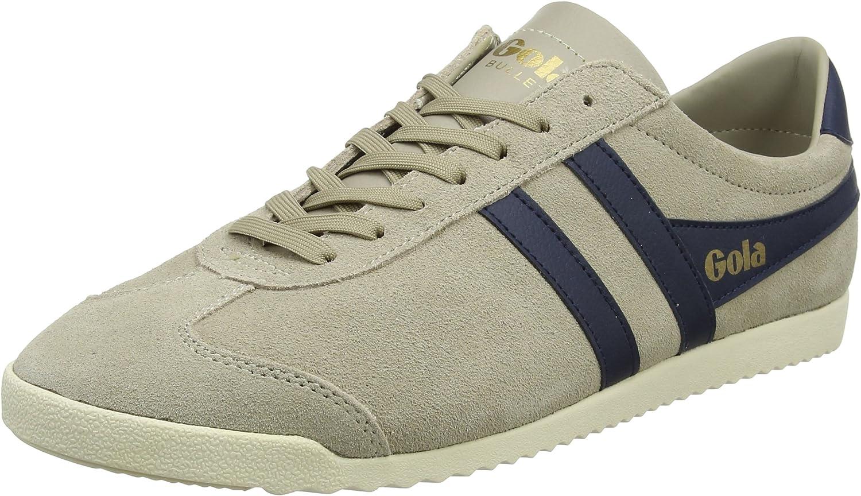 Gola Bullet Suede, Zapatillas para Hombre, Beige (Indian Stone/Navy Oe), 45 EU: Amazon.es: Zapatos y complementos