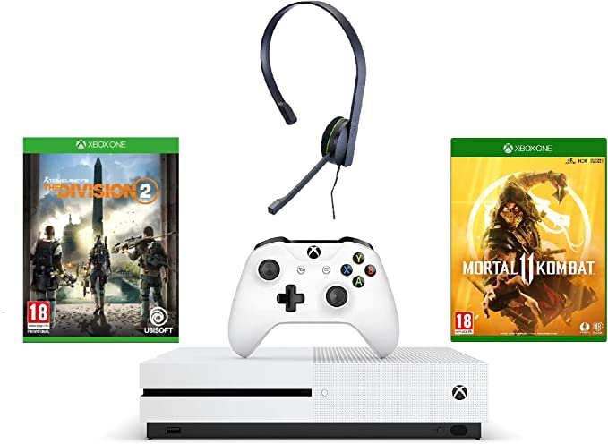 Xbox One S 1TB Console - Tom Clancys The Division 2 Bundle + ...
