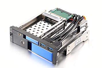 Dshot® aleación de aluminio Bahía de 5,25 pulgadas Bandeja menos Mobile Rack con