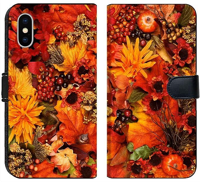 Amazon Com Apple Iphone X Flip Fabric Wallet Case Image Id