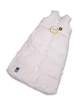 Aro - Saco de dormir (Plumón/saco de dormir uni Basic - Talla 110/130 color rosa: Amazon.es: Bebé
