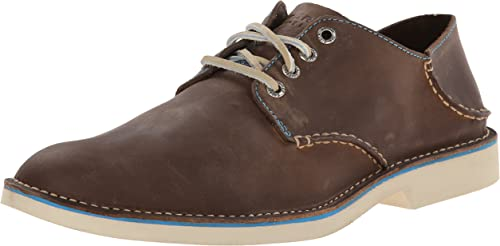 SPERRY Mens Harbor Oxford Plain Toe Tan