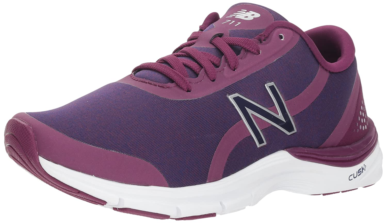 New Balance Women's 711v3 Cush + Cross Trainer B075R755NH 9.5 B(M) US|Magenta