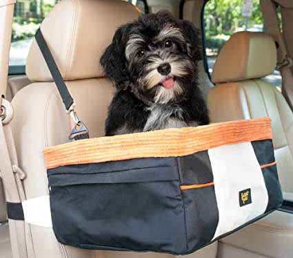 Frontpet Dog And Cat Car Booster Seat Travel Small Animal Lookout